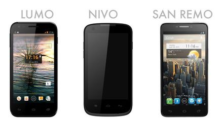 smartphones Orange Lumo Nivo Remo
