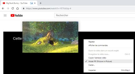 Chrome-pip-youtube