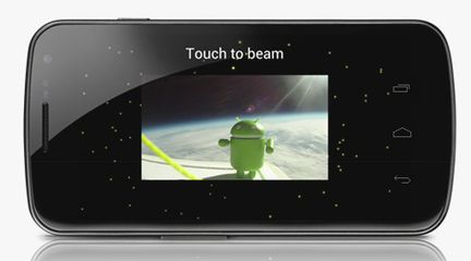 Galaxy Nexus Android Beam