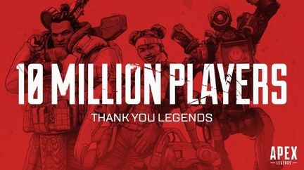 Apex Legends 10 millions
