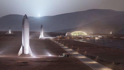 starship-mars