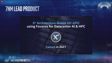 Intel Xe GPU 7 nm