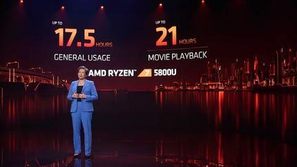 AMD Ryzen 5000 Mobile autonomie