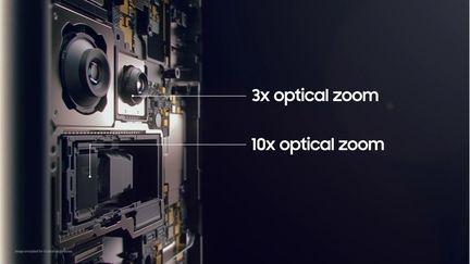 Samsung Galaxy S21 Ultra double zoom