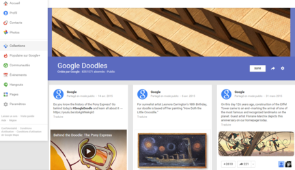 Google+-Collections