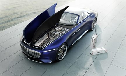 Vision Mercedes Maybach 6 coffre