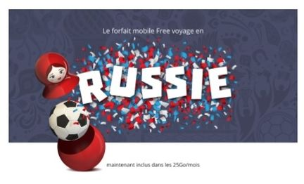 Free Mobile Russie roaming