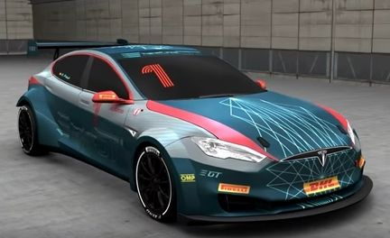 Electric GT Tesla Model S P100DL