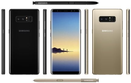 Galaxy Note 8 design