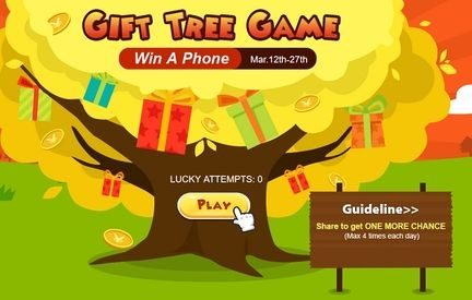 Gift Tree Game