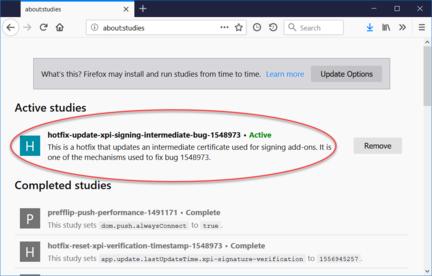 Les extensions Firefox inutilisables ? Pas de panique