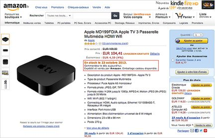 Amazon Apple TV