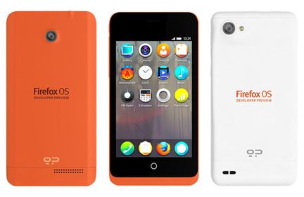 Firefox OS Developer preview phone