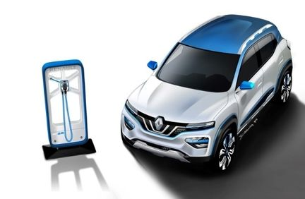 Renault K-ZE charge