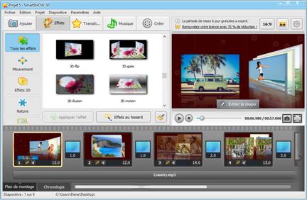 SmartShow 3D-5-appliquer-les-effets