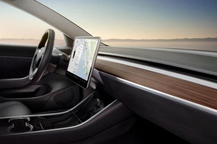 Tesla Model 3 interieur 02