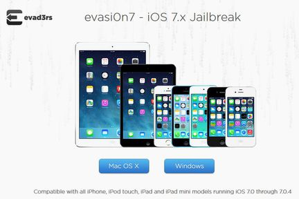 iOS 7 : le jailbreak Evasi0n7 disponible !