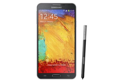 Samsung Galaxy Note 3 Neo face