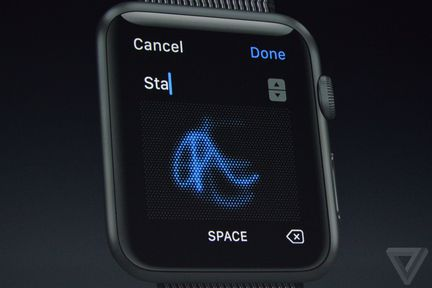WatchOS 3 Scribble