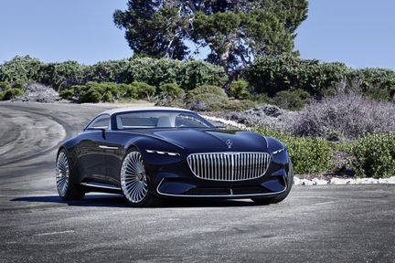 Vision Mercedes Maybach 6 02