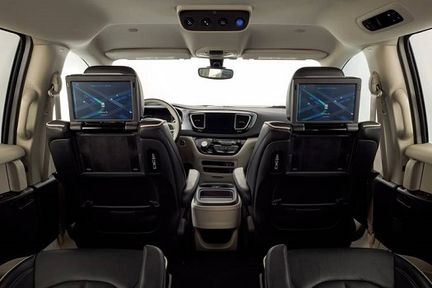 Waymo Pacifica interieur