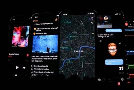 iOS 13 dark mode 02