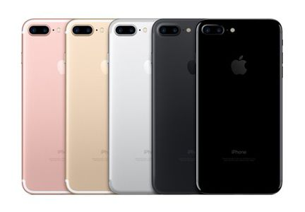 iPhone 7 Plus coloris