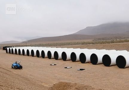 Hyperloop tubes