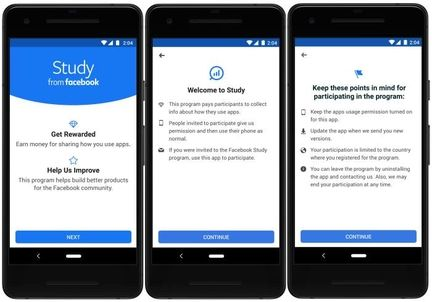 Facebook-application-study-android