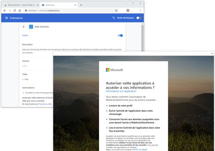 Chrome-extension-web-activities