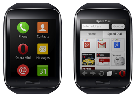 Opera Mini Samsung Gear S