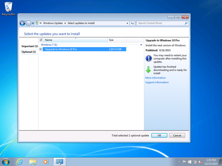 Upgrade-Windows-10-option-selection-par-defaut