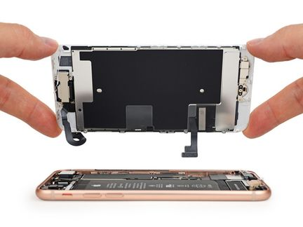 iPhone 8 ecran ifixit.