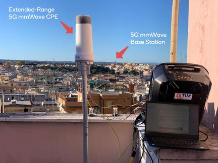 5G mmWave FWA record connexion