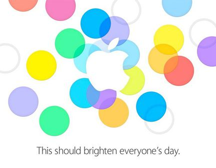 Apple invitation iPhone