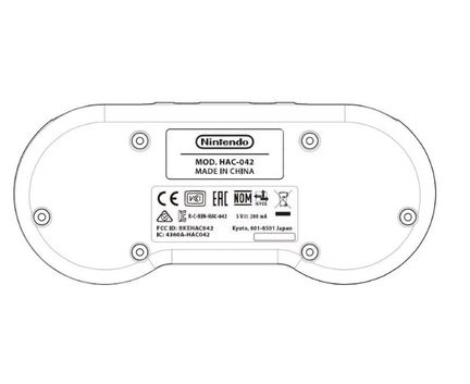 Nintendo Switch SNES manette