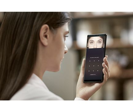 Galaxy Note 8 biometrie