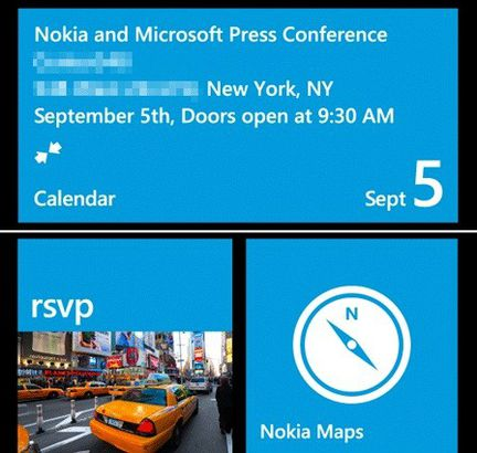 Nokia Microsoft WP8 invitation