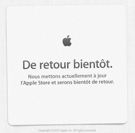 Apple store out