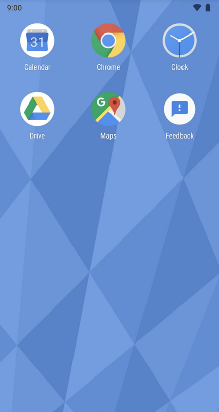 Android 9 Pie personnalisation launcher