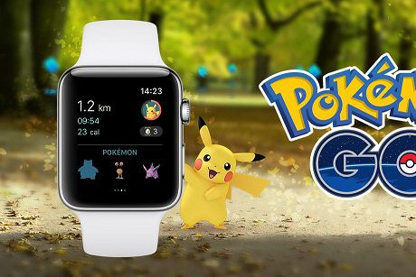 Pokemon Go Apple Watch.