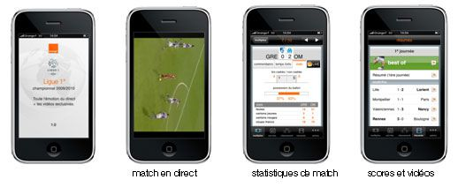 Orange Ligue 1 iPhone