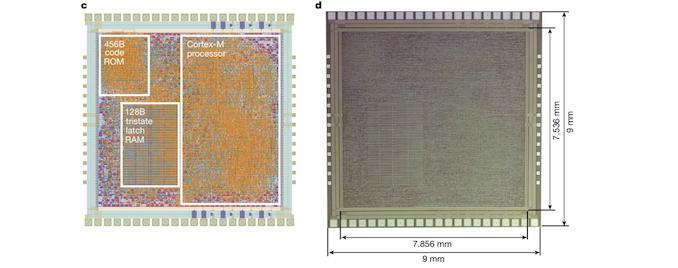 PlasticARM Cortex M0