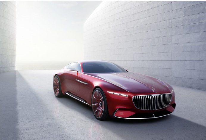 Vision Mercedes-Maybach 6 avant