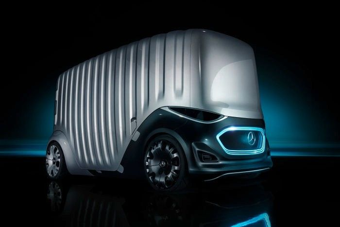 Mercedes Benz Vision Urbanetic Cargo 02