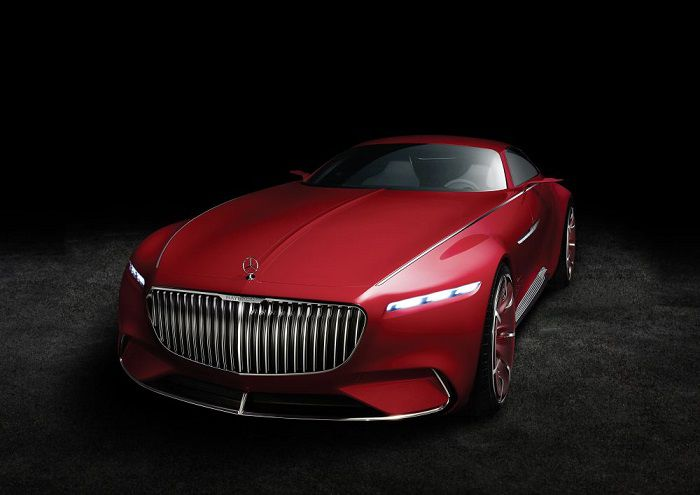 Vision Mercecdes Maybach 6 front