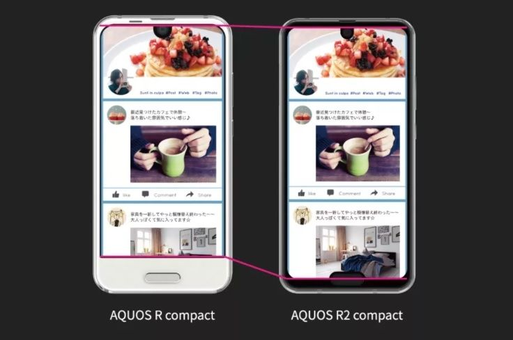 Sharp Aquos R2 Compact 02