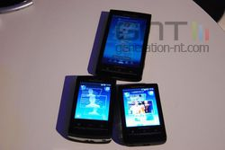 MWC Sony Ericsson X10 gamme 01