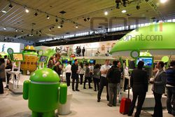MWC Android stand 03