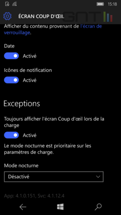 Ecran coup d'oeil Windows 10 (5)